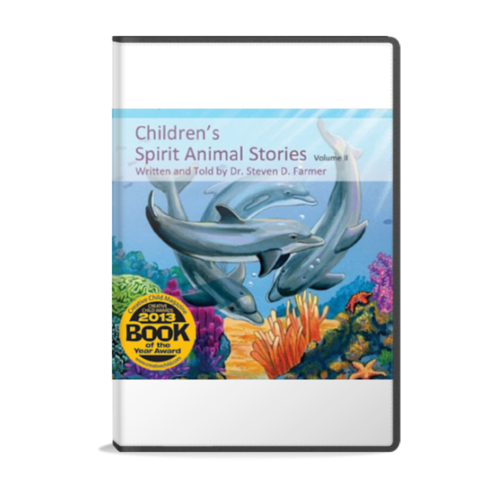 Children's Spirit Animal Stories volume 2 audiobook with four original stories by Dr. Steven Farmer