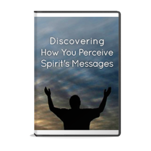 Discovering How You Perceive Spirit's Messages guided meditation instant mp3 audio download