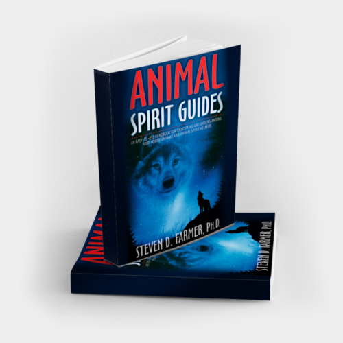Animal Spirit Guides book for identifying and understanding power animals, signnd by Dr. Steven Farmer