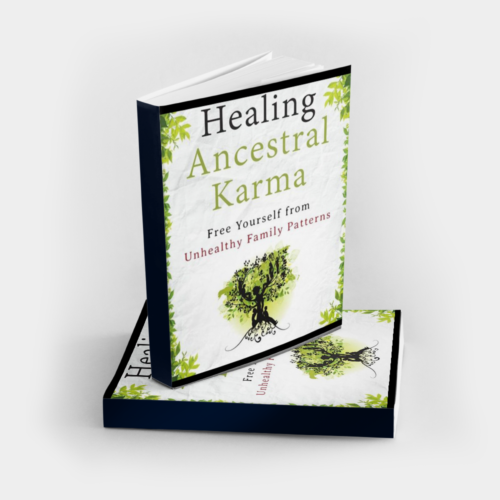 Healing Ancestral Karma book to free yourself from unhealthy family patterns, signed and personalized by Dr. Steven Farmer