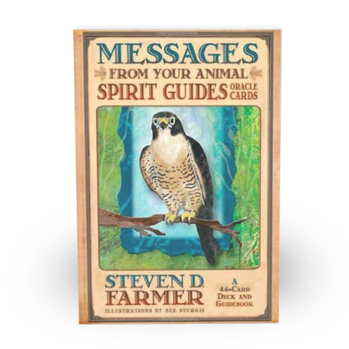 Animal Spirit card deck and guidebook for animal spirit readings, made by Dr Steven Farmer