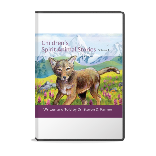 Children's Spirit Animal Stories volume 1 audiobook with five original stories by Dr. Steven Farmer