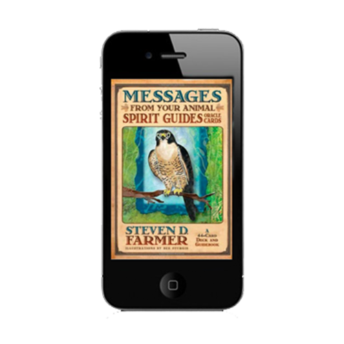Downloadable Messages from your Animal Spirit Guide oracle card app for daily guidance anywhere, anytime