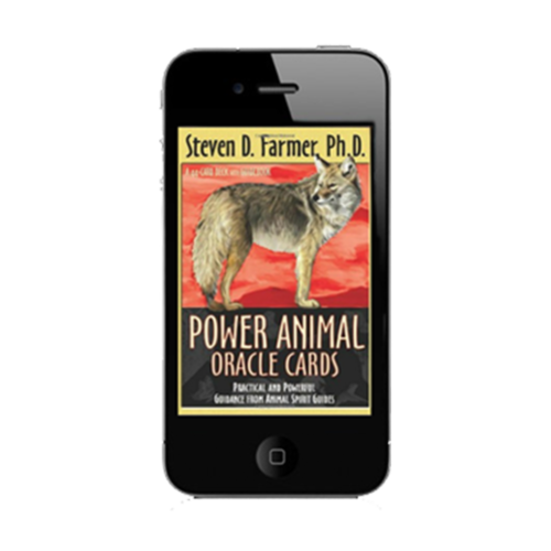 Downloadable Power Animal Oracles Cards app for daily guidance anywhere, anytime.