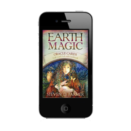 Downloadable Animal Spirit card app for daily guidance anywhere, anytime.