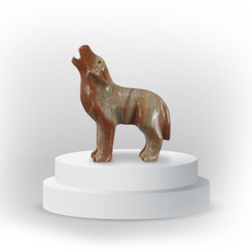 Steven Farmer alt-tags Steven Farmer alt-tags 100% 10 Wolf animal totem in dolemite, and made in Peru, symbolizing protection Screen reader support enabled. Wolf animal totem in dolemite, and made in Peru, symbolizing protection Anonymous Dolphin has joined the document.