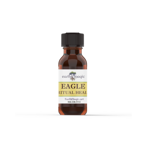 Eagle Spiritual Healing essential oil bottle with Eucalyptus and Lemongrass essential oils